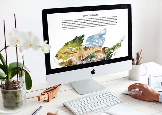 Prince Edward County image of tourism website