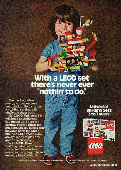 Lego Ad 1979