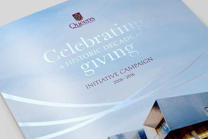 Queen's University Initiative Campaign book cover